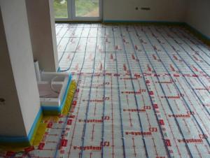 Elektrické podlahové topení - instalace
